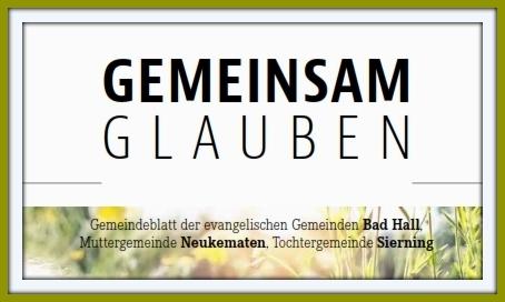 Unser Gemeindeblatt